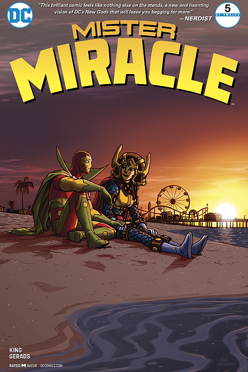 Mister Miracle 05 - Cover A Nick Derington