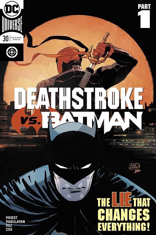 Deathstroke 30 - Cover A Lee Weeks
