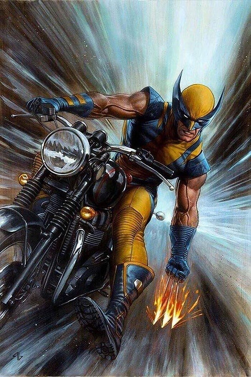 Return Of Wolverine - Cover Granov