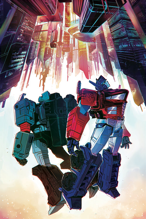 Transformers 06 - Cover A Lawrence