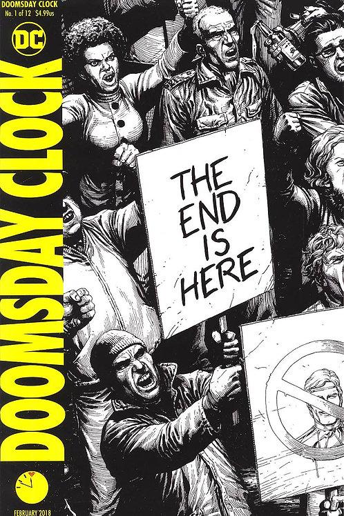 Doomsday Clock 01 - Cover H Gary Frank