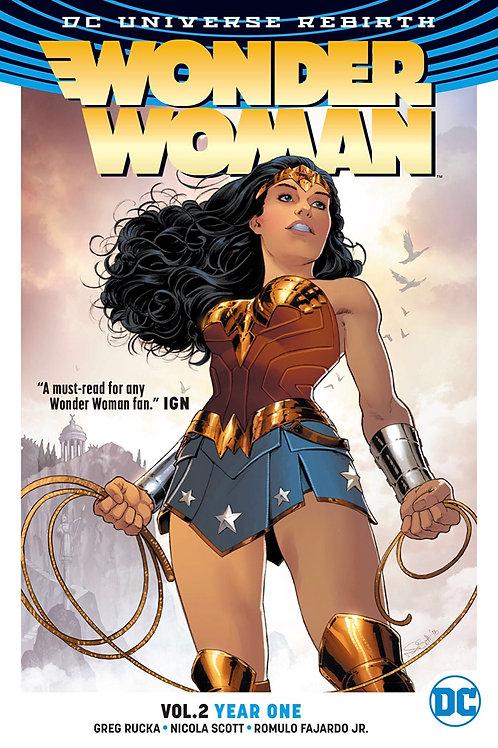 Wonder Woman: Year One - Vol 2