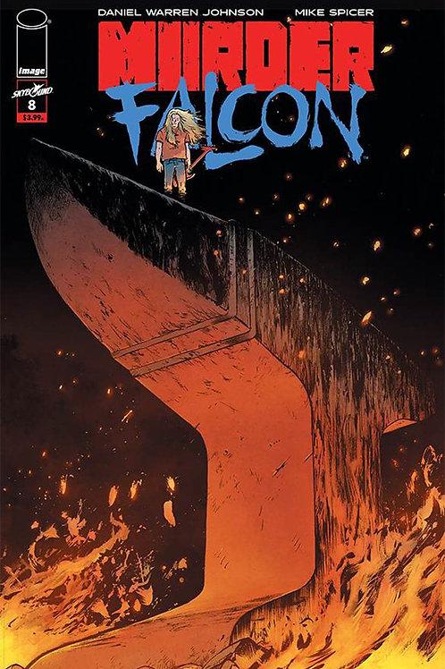 Murder Falcon 08 - Cover A Johnson