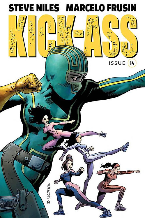 Kick-Ass 14 - Cover A Frusin