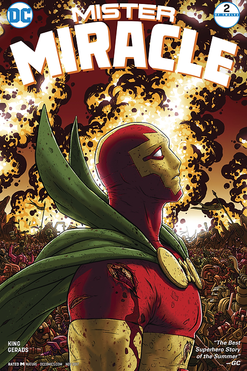Mister Miracle 02 - Cover A Nick Derington