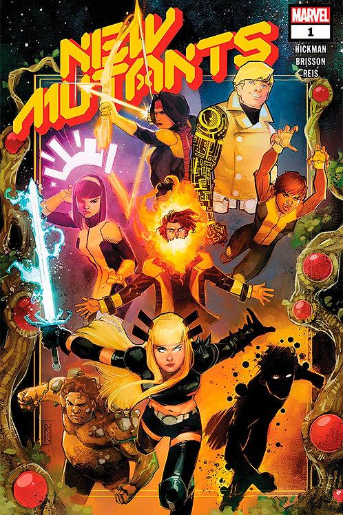 New Mutants 01 - Cover A Reis