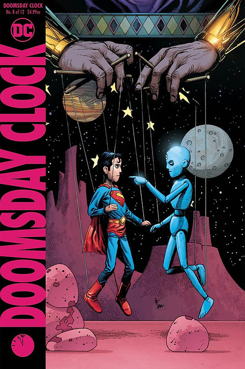Doomsday Clock 08 - Cover B Gary Frank