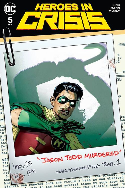 Heroes in Crisis 05 - Cover B Sook
