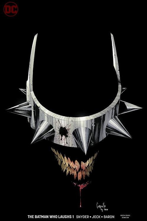 The Batman Who Laughs 01 - Cover B Capullo