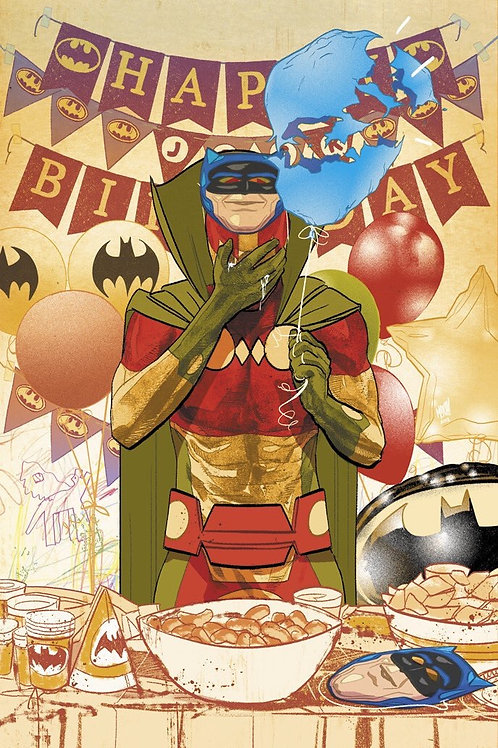 Mister Miracle 10 -Cover B Mitch Gerads