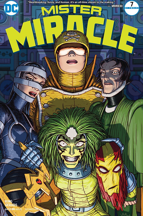 Mister Miracle 07 - Cover A Nick Derington