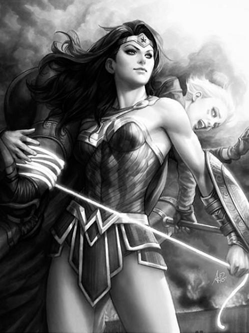 Justice League vs Suicide Squad 01 - Artgerm Cover B