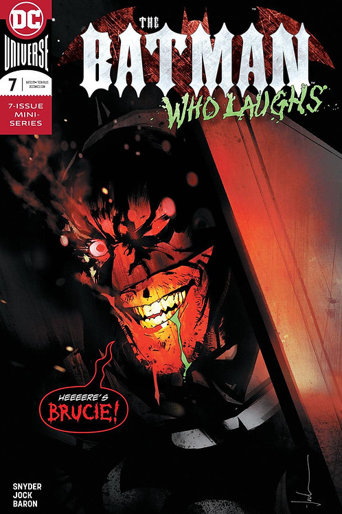 The Batman Who Laughs 07 - Cover A Jock
