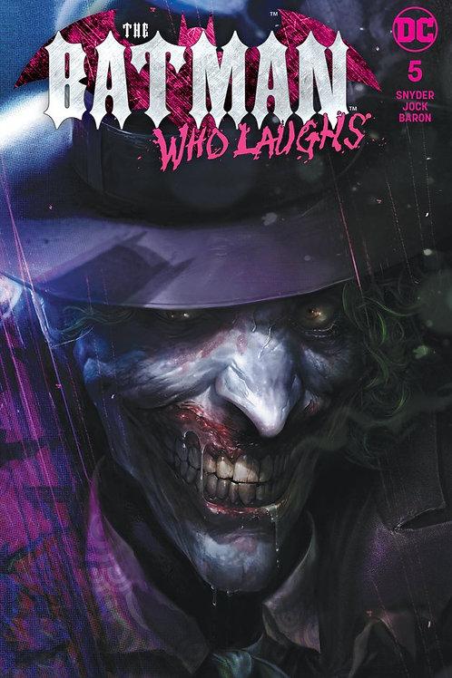 The Batman Who Laughs 05 - Cover Mattina