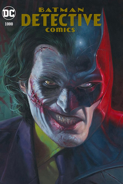 Detective Comics 1000 - Cover Riccardo Federici