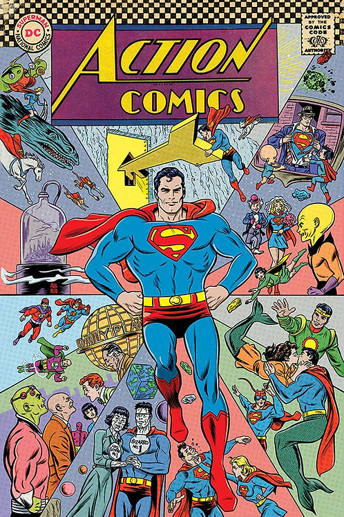 Action Comics 1000 - Cover E Michael Allred