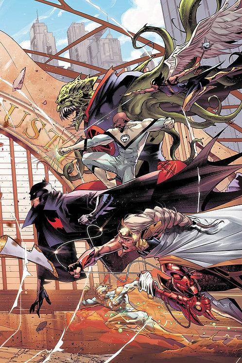 Justice League 21 - Cover A Jimenez