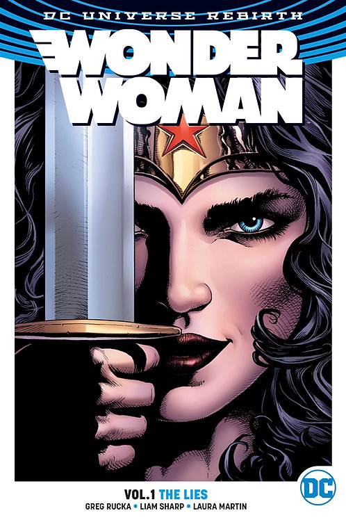 Wonder Woman: The Lies - Vol 1