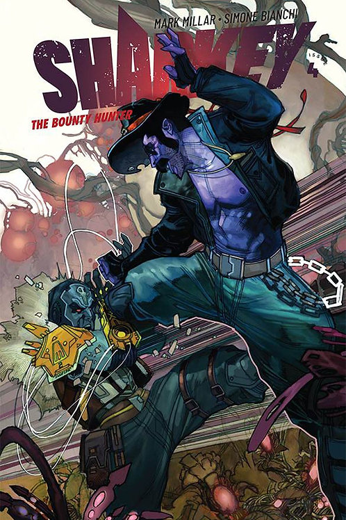 Sharkey The Bounty Hunter 04 - Cover A Bianchi