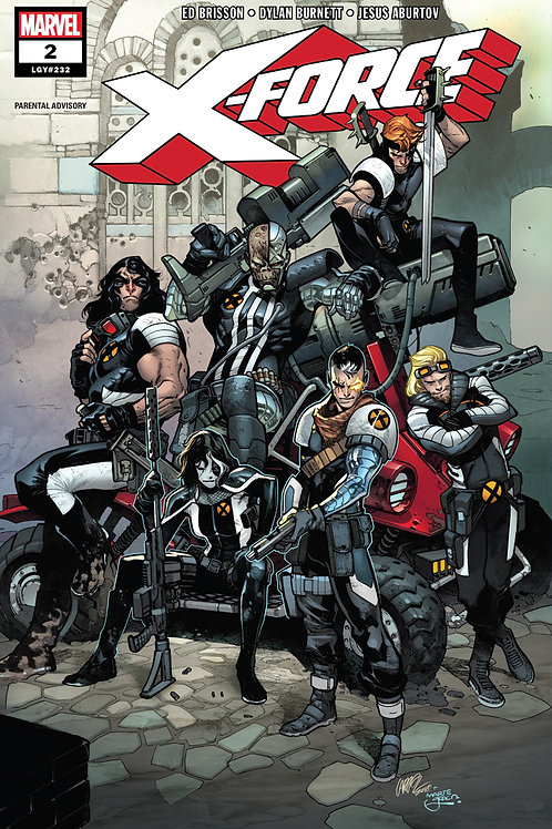 X-Force 02 - Cover A Larraz