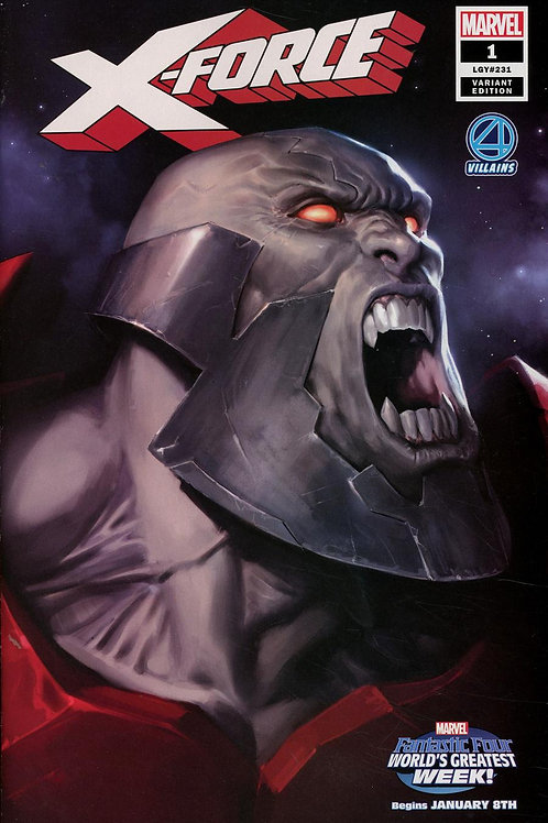 X-Force 01 - Cover B Djurdjevic