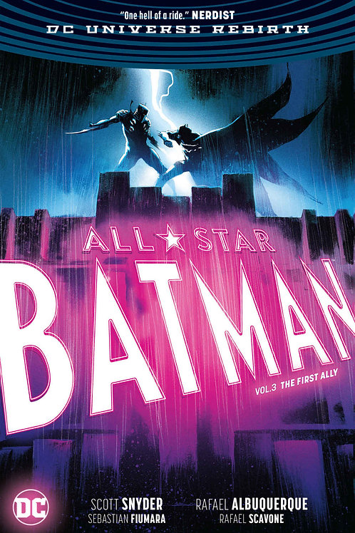 All Star Batman 3: The First Ally - Hard Cover