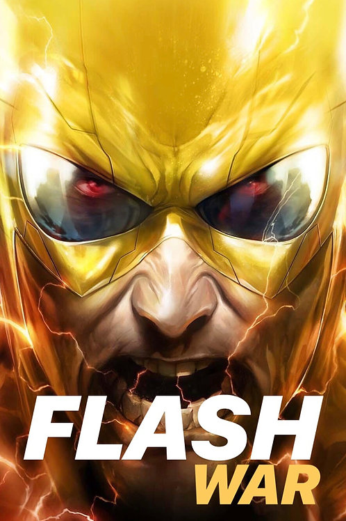 Flash War - Set Cover B Francesco Mattina