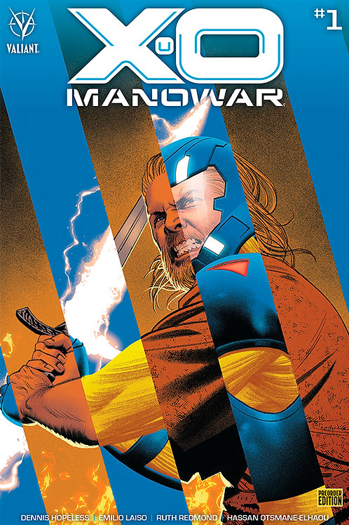 X-O Manowar 01 - Cover D Bundled Ed.