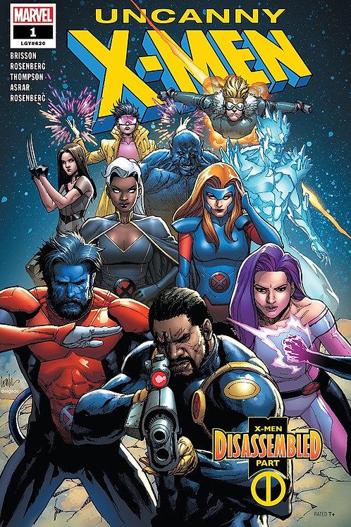 Uncanny X-Men 01 - Francis Yu Cover