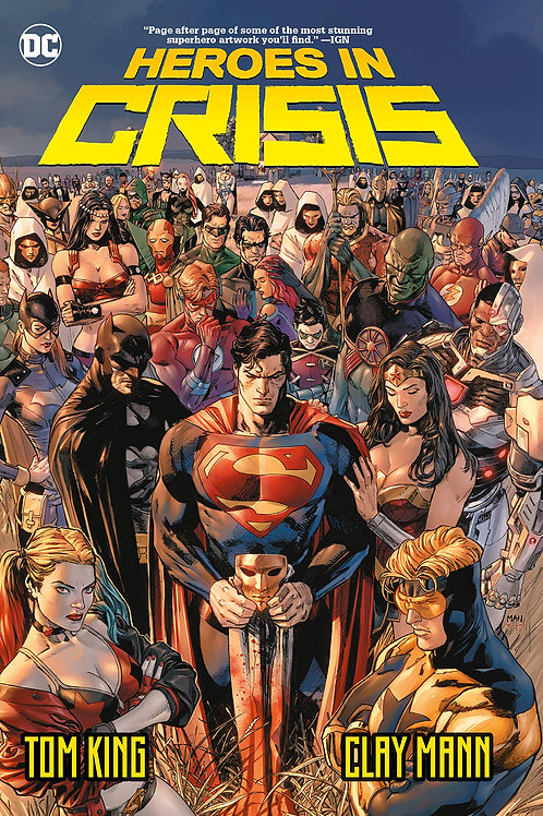 Heroes in Crisis - Hard Cover
