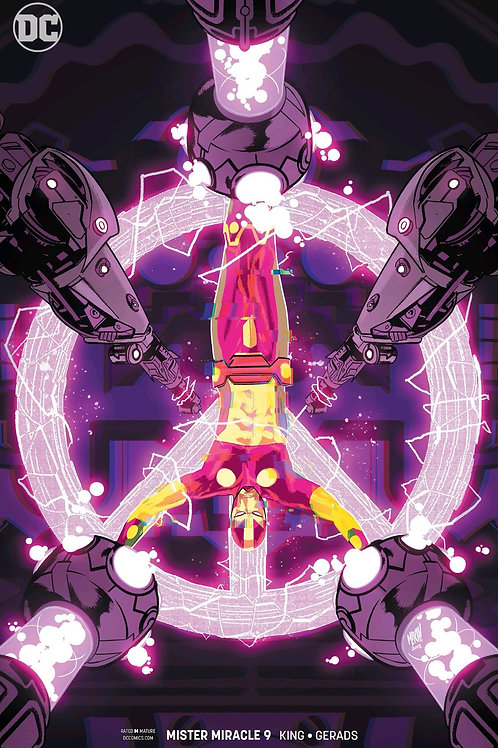 Mister Miracle 09 - Cover B Mitch Gerads