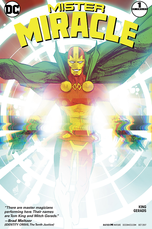Mister Miracle 01-12 Variant Covers / Full Run