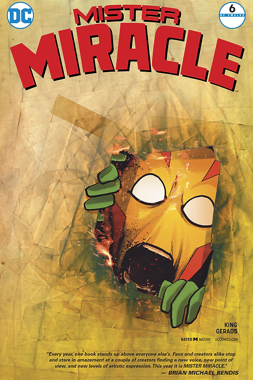 Mister Miracle 06 - Cover B Mitch Gerads