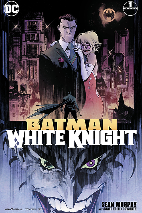Batman White Knight 01 - Cover A 1st Printing