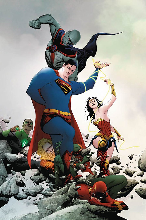 Justice League 21 - Cover B Jae Lee