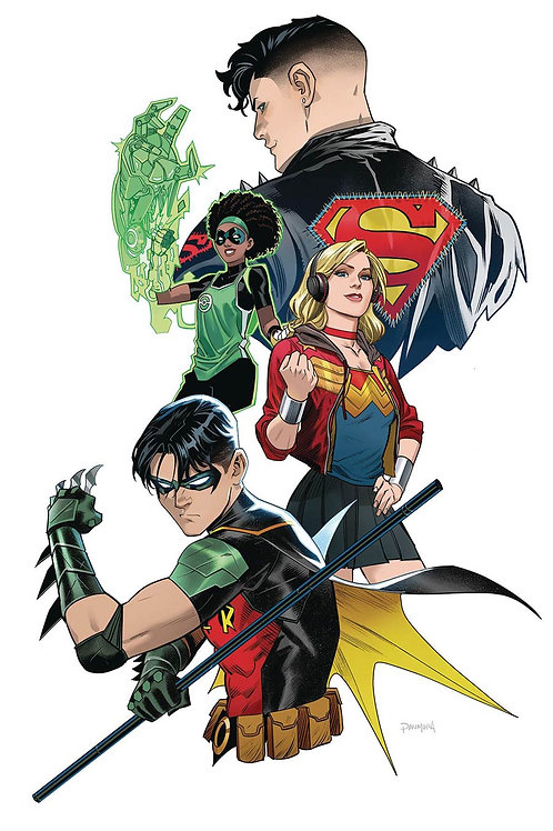 Young Justice 4 - Cover B Mora