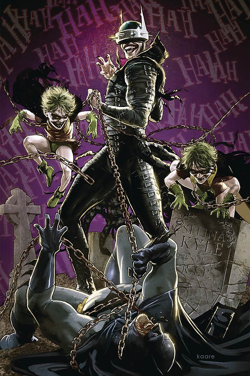 The Batman Who Laughs 04 - Cover B Andrews