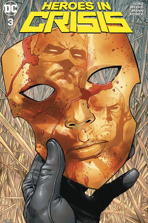 Heroes in Crisis 03 - Cover A Clay Mann