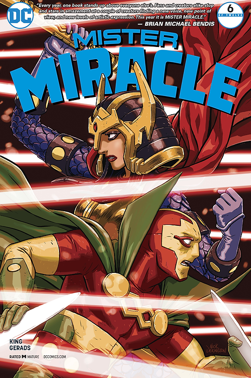 Mister Miracle 06 - Cover A Nick Derington