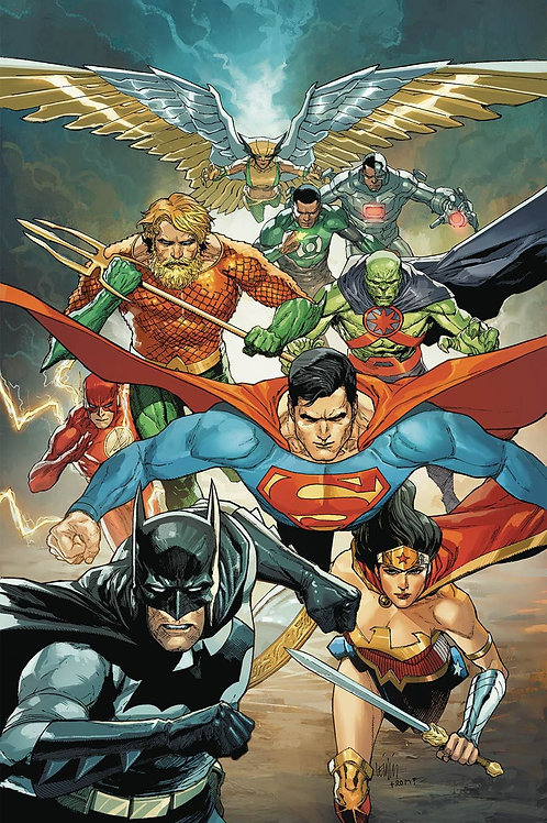 Justice League 22 - Cover B Francis Yu