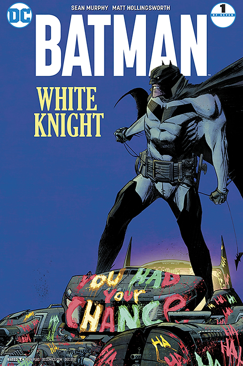 Batman White Knight 01 - Cover B 1st Printing