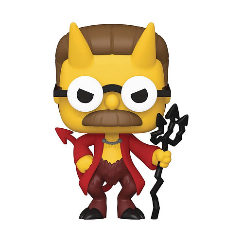 Pop Animation Simpsons Devil Flanders