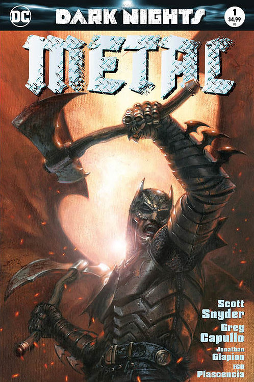 Dark Nights Metal 01 - Gabriele Dell'Otto Variant