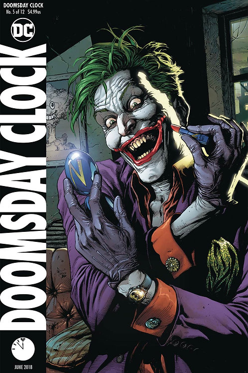 Doomsday Clock 05 - Cover B