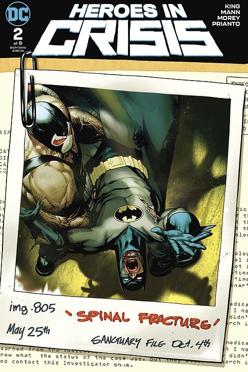 Heroes in Crisis 02 - Cover B Sook