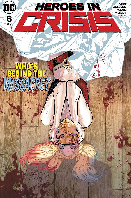Heroes in Crisis 06 - Cover A Mitch!