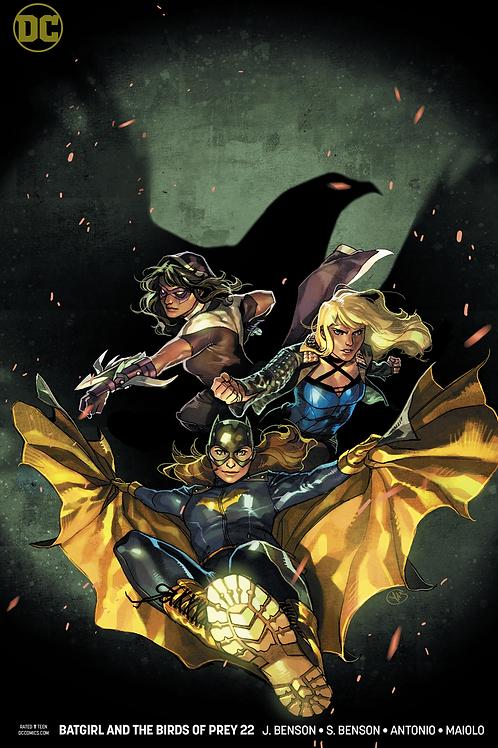 Batgirl and the Birds of Prey 22 - Cover B Yasmine Putri