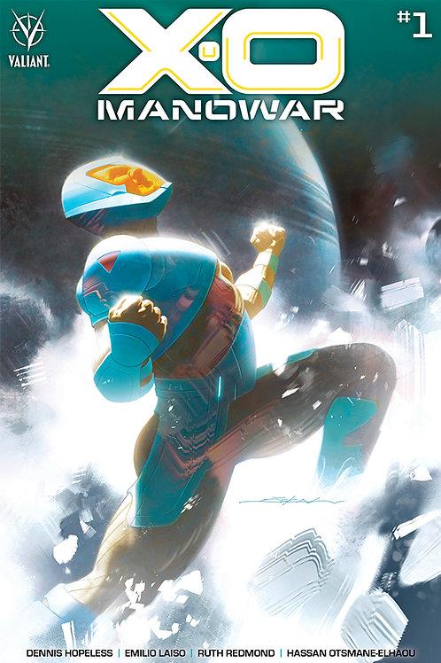 X-O Manowar 01 - Cover B Dekal