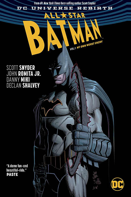 All-Star Batman 1: My Own Worst Enemy - Hard Cover