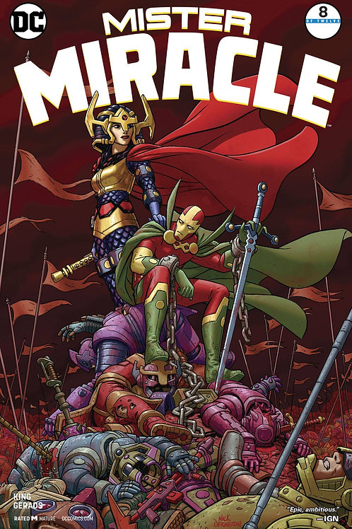Mister Miracle 08 - Cover A Nick Derington